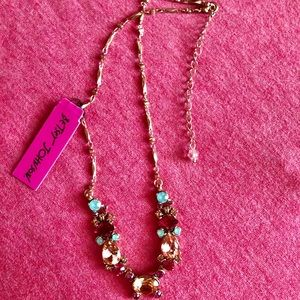 Betsey Johnson Jewelry - NWT 💎 Betsey Johnson Rare Rhinestone Necklace